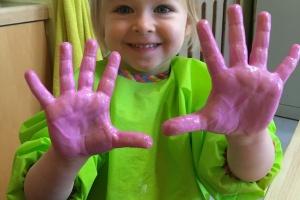 Accueil A : Que font mes petits mains